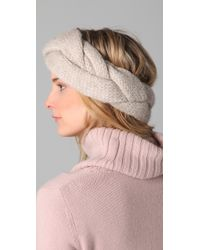 Club Monaco - Natural Heather Headband - Lyst
