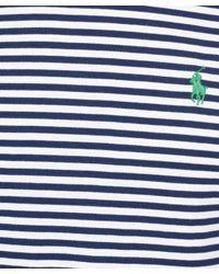 Polo Ralph Lauren - Blue Navy Nautical Stripe T-shirt for Men - Lyst