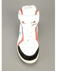Premiata - White High-top Trainer for Men - Lyst