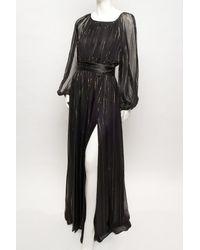 Rachel Zoe | Black Olivia Blouson Gown | Lyst