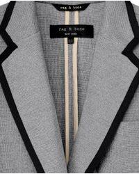 Rag & Bone | Gray Bromley Blazer | Lyst