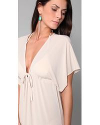 Josa Tulum - Natural Rustic Long Cover Up Dress - Lyst
