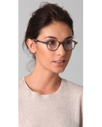Tom Ford - Gray Round Glasses - Lyst