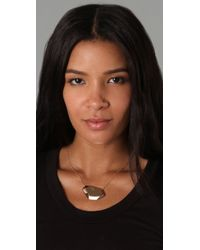 Gorjana - Pink Blake Faceted Necklace - Lyst
