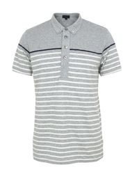 Paul Smith | Gray Light Grey Polo Shirt for Men | Lyst