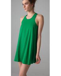 Alice + Olivia - Green Trina Tunic Dress - Lyst