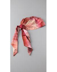 Eugenia Kim - Pink Gigi Headscarf - Lyst