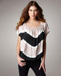 Joie | White Caro Tie-dye Top | Lyst