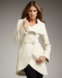 Mackage | White Diana Wool Coat | Lyst