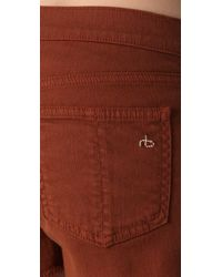 Rag & Bone | Brown The Cutoff Shorts | Lyst