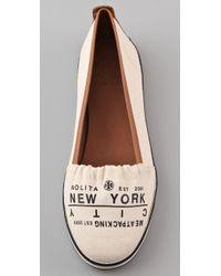 Tory Burch | White Traveler Slip On Sneakers | Lyst
