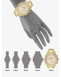 Michael Kors   Metallic Horn-look Link Bracelet Chronograph Watch   Lyst