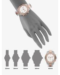 Michael Kors - Metallic Madison Chronograph Lucite Watch - Lyst