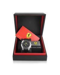 Ferrari - Scuderia Ferrari Black Chrono Watch for Men - Lyst