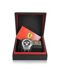 Ferrari - Metallic Scuderia Ferrari Chrono Carbon Watch for Men - Lyst