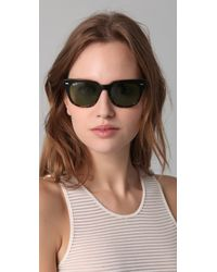 Ray-Ban - Black Meteor Sunglasses - Lyst