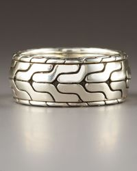 John Hardy - Metallic Classic Chain Rolling Ring - Lyst