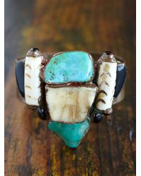 Free People | Multicolor Vintage Cuff Bracelet | Lyst