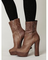 Free People | Brown Drake Platform | Lyst