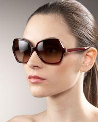 Oliver Peoples | Black Lainie Sunglasses | Lyst