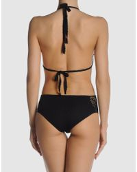 Catherine Malandrino | Black Cutout Crocheted Swimsuit | Lyst