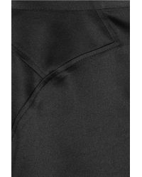 Just Cavalli | Black Satin Pencil Skirt | Lyst