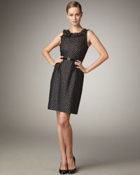 kate spade new york | Natural Courtney Polka-dot Dress | Lyst