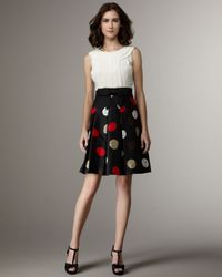 kate spade new york | Multicolor Spree Sleeveless Combo Dress | Lyst