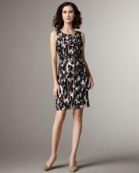 kate spade new york | Blue Rhea Ink Blot Dress | Lyst