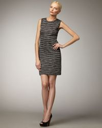 M Missoni | Black Space-dye Knit Dress | Lyst