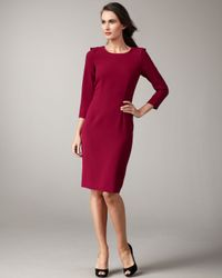 Rachel Roy | Purple Back-ruffle Dress | Lyst