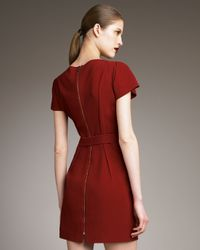 Roland Mouret - Red Nora Tunic-top-dress - Lyst