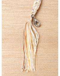 Alyssa Norton - Metallic Alyssa Norton Sterling Silver and Braided Silk Bracelet - Lyst