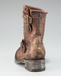 Old Gringo - Brown Stitched Motorcycle Boot - Lyst
