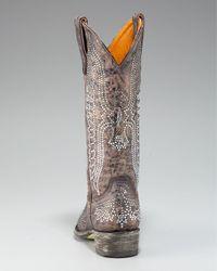Old Gringo | Brown Swarovski-crystal Boot | Lyst