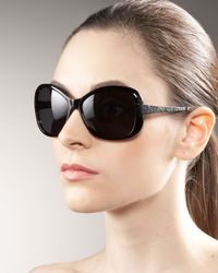Oliver Peoples   Brown Matine Plastic Sunglasses   Lyst