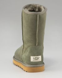 UGG | Green Classic Short Shearling Boot | Lyst