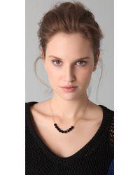Chan Luu - Black Long Beaded Necklace - Lyst