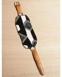 Dries Van Noten | Brown Womens Beaded Bracelet | Lyst