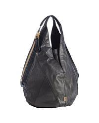 Givenchy | Black Textured Calfskin Tinhan Hobo | Lyst