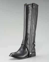 Juicy Couture - Black Carlton Riding Boot - Lyst