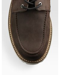 Lacoste | Brown Leather Dress Shoe for Men | Lyst