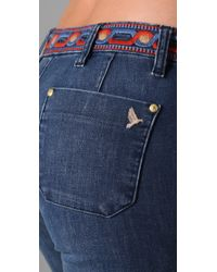 M.i.h Jeans - Blue Marrakesh Kick Flare Jeans - Lyst