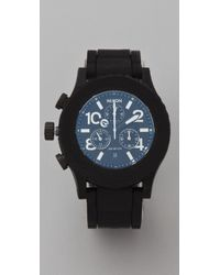 Nixon - Black The Rubber 42-20 Chrono Watch - Lyst