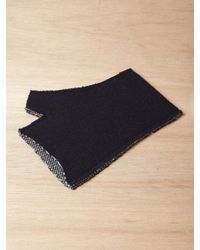 Nonnative - Blue Mens Wool Ethnic Jacquard Gloves for Men - Lyst