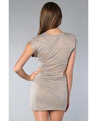 StyleStalker - Brown The Swagger Dress - Lyst