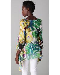 Just Cavalli | Multicolor Floral Tunic | Lyst