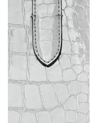 Marc Jacobs - Cosmic Croc-embossed Metallic Leather Tote - Lyst