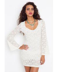Nasty Gal - White Belladonna Dress - Lyst