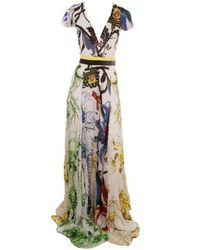 Roberto Cavalli | Multicolor Maxi Dress | Lyst